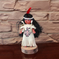 Vintage Indian Doll, USA Native Americans, Carlson?