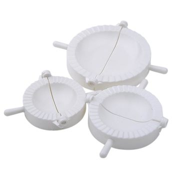 3 Pcs Chinese Dumplings Mold Dough Press Pie Ravioli Making Maker Mold dumpling makers Kitchen Tool