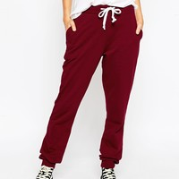 ASOS Lightweight Joggers With Contrast Tie at asos.com