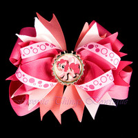 My Little Pony Pinkie Pie Hair Bow with Bottle Cap