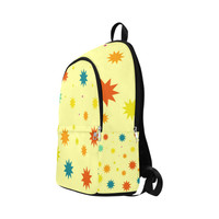zappwaits-stars 02 Fabric Backpack for Adult (Model 1659) | ID: D2893965