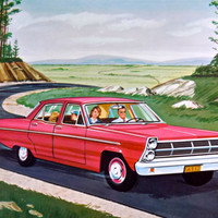 Teaching Pictures Car Red Car Childrens Poster Childrens School Art