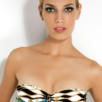 Shell Underwire Bandeau Top - On Sale