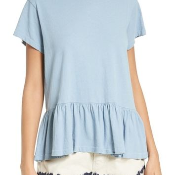 THE GREAT. The Ruffle Tee | Nordstrom