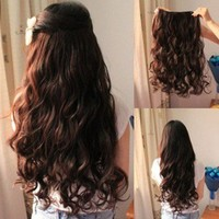 Wavy Hair Extension Clip