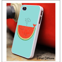 Watermelon Whale iPhone 4s iPhone 5 iPhone 5s iPhone 6 case, Galaxy S3 Galaxy S4 Galaxy S5 Note 3 Note 4 case, iPod 4 5 Case