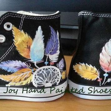 CREYON dreamcatcher sneakers dream catcher converse hand painted shoes