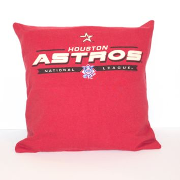 Houston Astros Pillow