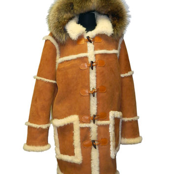Jakewood - 4100 Alaska Full Shearling Lamb Jacket