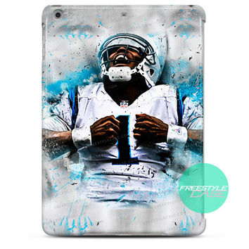 Cam newton NFL Panthers Quarterback iPad Case 2, 3, 4, Air, Mini Cover
