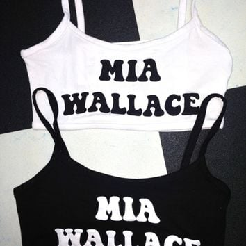 SWEET LORD O'MIGHTY! MIA WALLACE BRALET IN BLACK