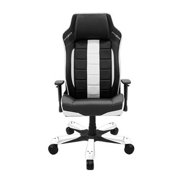 DXRacer BE120NW Big and Tall Ergonomic Leather office chair leather style-White