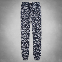 Olivia Floral Drapey Pants