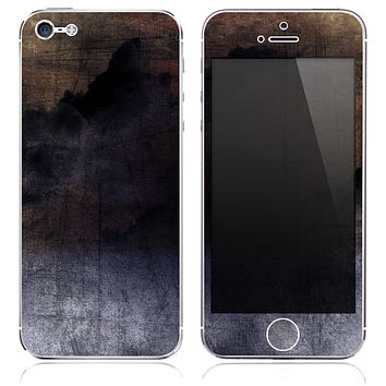 The Inverted Grunge Cloudy Texture Skin for the iPhone 3, 4-4s, 5-5s or 5c