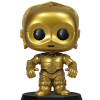 FUNKO Pop! Star Wars: C3PO Bobble Head | Stocking Stuffers