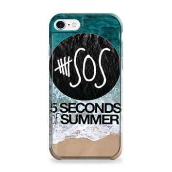 5 seconds of summer band the beach iPhone 6 | iPhone 6S Case