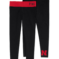 University of Nebraska Yoga Legging - PINK - Victoria's Secret