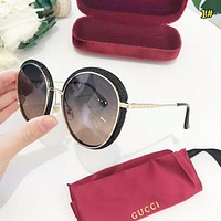 GUCCI New fashion polarized sunscreen travel couple glasses 1#