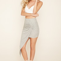 Twisted Asymmetrical Skirt