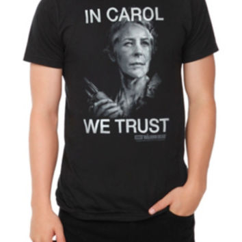 The Walking Dead In Carol We Trust T-Shirt