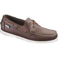 Docksides Boat Shoes in Brown Elk by Sebago