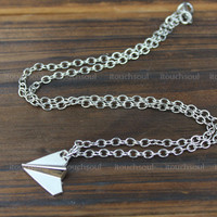 English Idol Group One Direction Paper Plane necklace,The best necklace gift