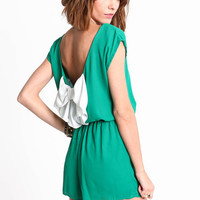 BOW BACK ROMPER