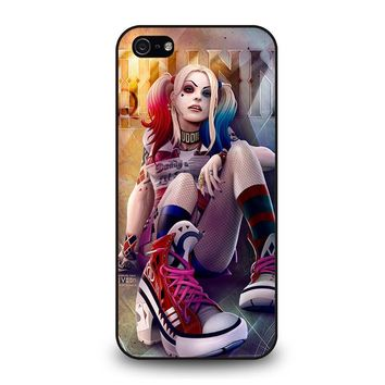 HARLEY QUINN DC iPhone 5 / 5S / SE Case Cover