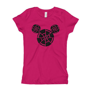 Wish Upon A Death Star Disney Star Wars Mashup Parody Girl's Princess T-Shirt