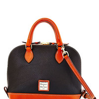Dooney & Bourke Bitsy Leather Colorblock Bowler Bag