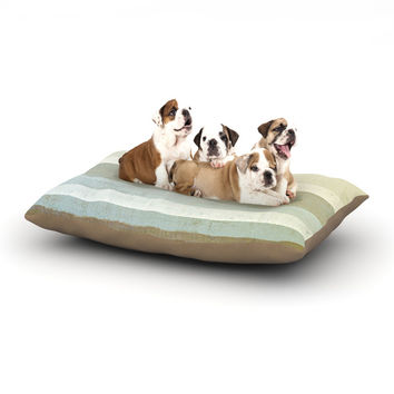 "CarolLynn Tice ""Invent"" Neutral Brown Dog Bed"