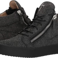 Giuseppe Zanotti Mens May London Glitter Mid Top Sneaker
