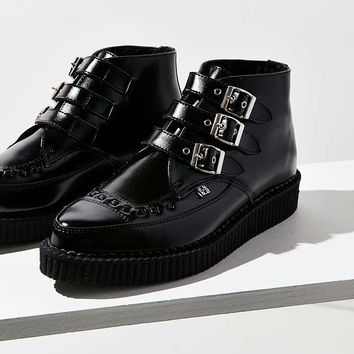 T.U.K. 3-Buckle Pointed Creeper Boot - Urban Outfitters