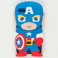 Marvel Chara-Covers Captain America iPhone 4/4S Case