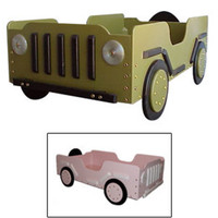 GI Jeep Toddler Bed
