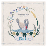 My Little Swan - Baby's / Child's Name Art Print Keepsake. FREE SHIPPING