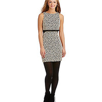 Honey and Rosie Lace Popover Dress - Black/Ivory