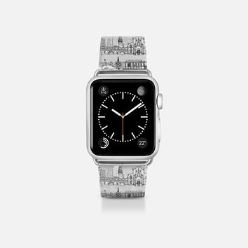 San Francisco toile transparent apple watch band Apple Watch Band (38mm)  by Sharon Turner | Casetify