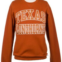 University Co-op Online | Ladies Texas Longhorns Crew Neck Fleece