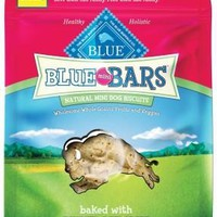 Blue Buffalo Bars Apple & Yogurt Dog Mini Biscuits 20oz