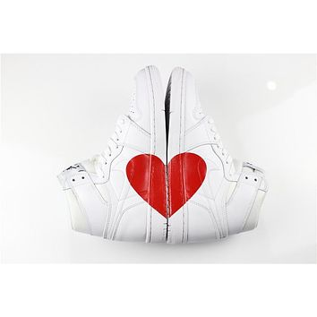 Air Jordan 1 Custom ¡°LOVE¡± Men Women Basketball Shoes Sneaker