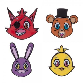 Five Nights at Freddy's Lapel Set