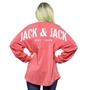 New: Limited Edition: Coral Jack & Jack Jersey