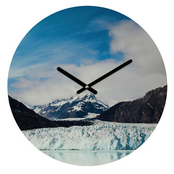 Leah Flores Glacier Bay National Park Round Clock