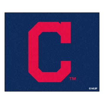 Cleveland Indians Block-C Tailgater Rug 5x6