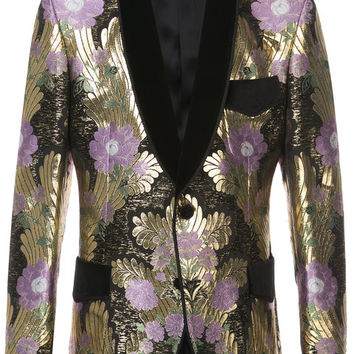 Dolce & Gabbana Tailored Brocade Dinner Jacket - Farfetch
