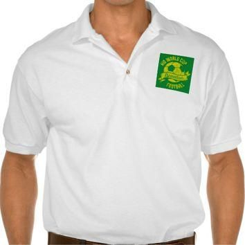 Rio | Men's Gildan Jersey Polo Shirt, White