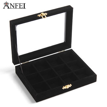 Free shipping Necklace box makeup organizer jewellery box gift box packaging porta joias bolsas x box jewelry stand
