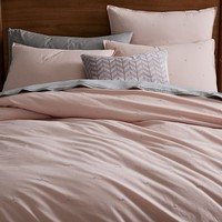 Organic Washed Cotton Duvet Cover + Shams