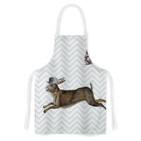 "Suzanne Carter ""Hare Today"" Rabbit Artistic Apron"